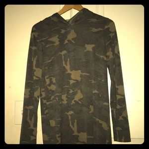 A camouflage dress